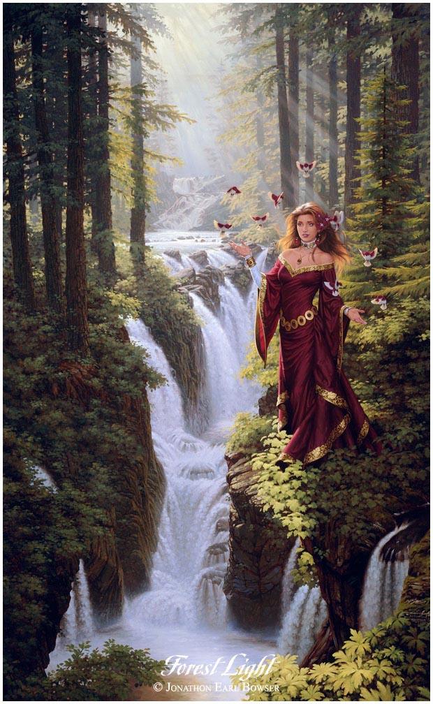N°6_Forest Light_Jonathon Earl Bowser (www.jonathonart.com)