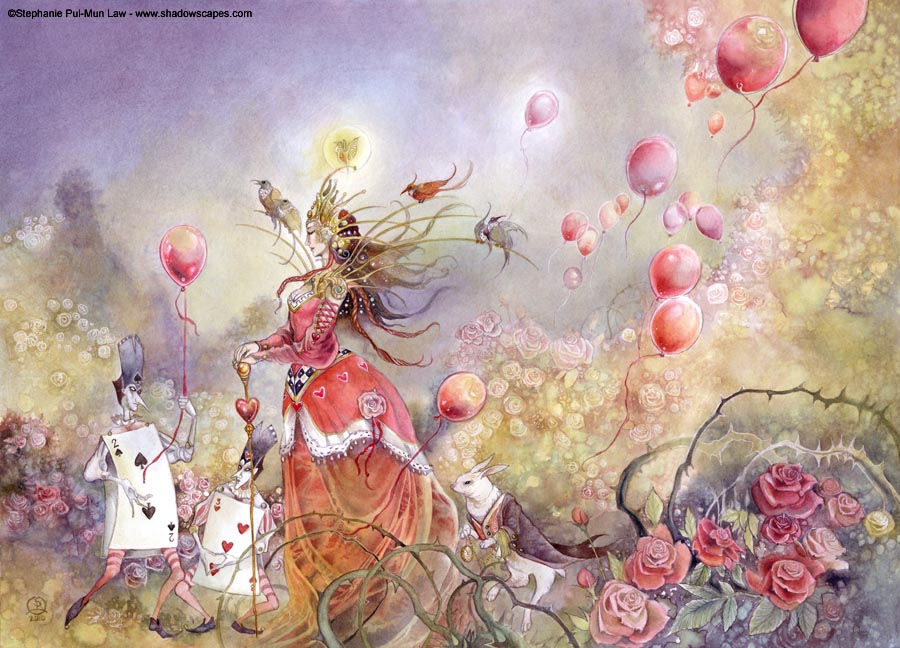 N°79_The queen of spades sends her regards_Stephanie Pui-Mun Law (www.shadowscapes.com)