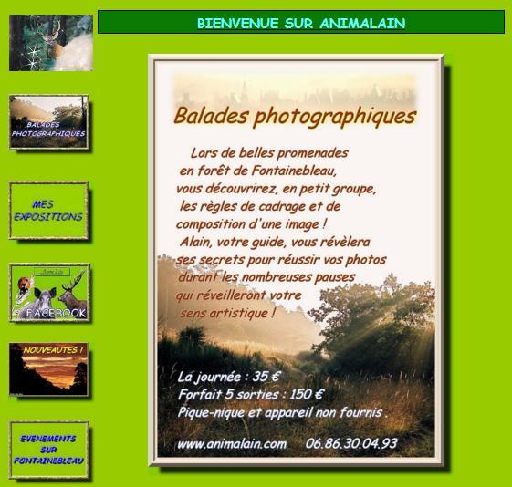 Page d'accueil_Animalain