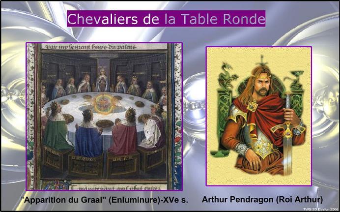Chevaliers de la table ronde - Tristan le chevalier de la table ronde ...