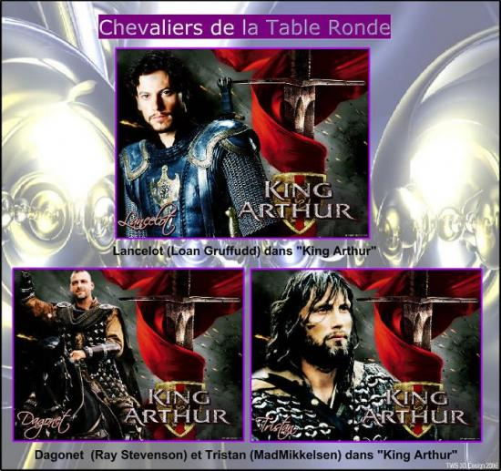 Chevaliers de la Table Ronde (3)