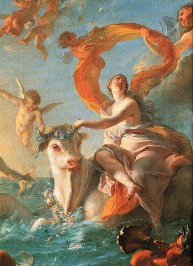 L enlevement d europe noel nicolas coypel 1726