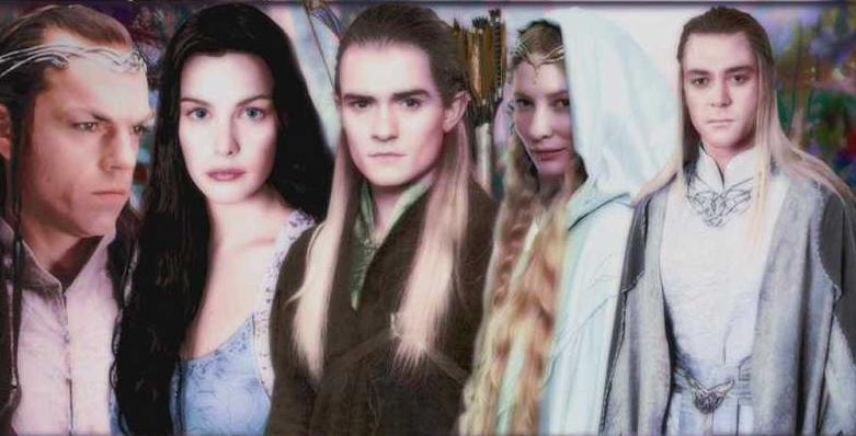 Les elfes le seigneur des anneaux de peter jackson